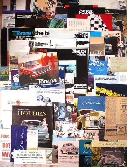 Documentation - Marque HOLDEN - Australie...