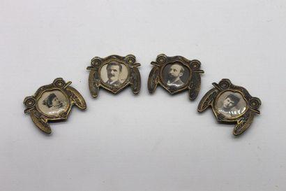 Cadres photos, calandre 1900  Ensemble de...