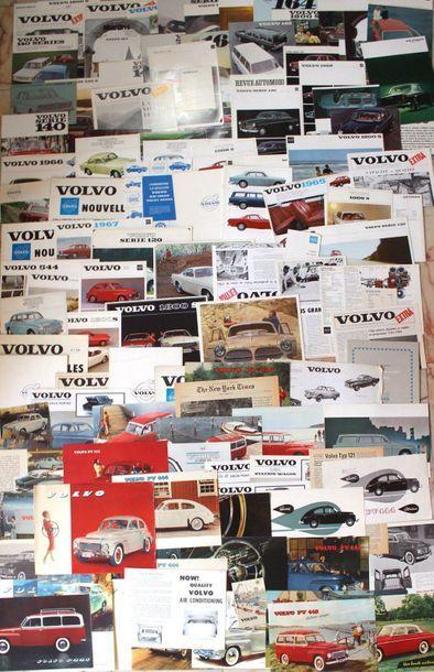 Documentation - Marque VOLVO - Suède de 1950...