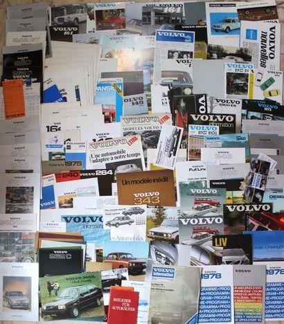 Documentation - Marque VOLVO - Suède 1969-1980...