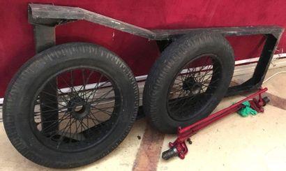 Châssis de Cyclecar Salmson AL 3  Châssis...
