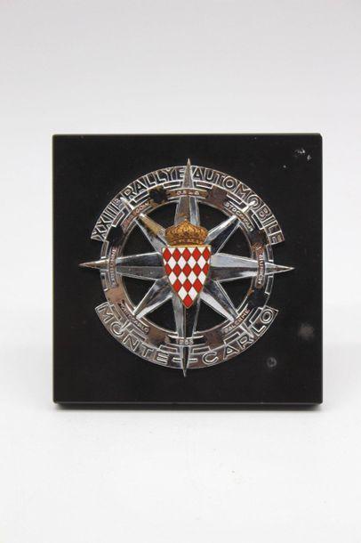 Badge du XXIII° Rallye Monte Carlo 1953  Badge...