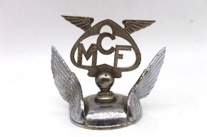 Motocycle Club de France  Mascotte de radiateur...