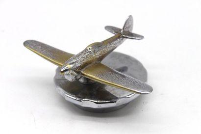 Avion Spitfire  Mascotte représentant un...