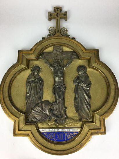 STATIONS XI, XII, XIII et XIV d'un Chemin...