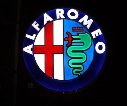 Enseigne lumineuse- Alfa-Roméo  Enseigne...