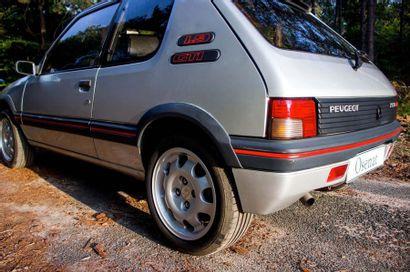1992 PEUGEOT 205 GTI 1,9 L Serial number VF 320CD6224892826  Second hand - same owner...