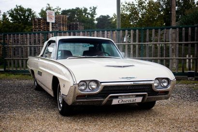 1963 FORD THUNDERBIRD CONVERTIBLE Serial Number 3Y85Z114008  Collector's French car...