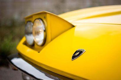 1969 LAMBORGHINI ISLERO S 400 GTS Numéro de série 6450  Numéro moteur 50147  Numéro...