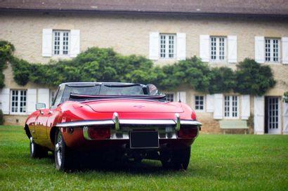 1970 JAGUAR TYPE E ROADSTER SERIES II 4,2L Numéro de série P2R14817 – moteur 7R13744...