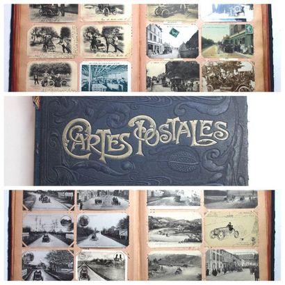 Cartes Postales Anciennes- Automobiles  Reunion...