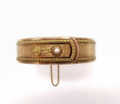 BRACELET Deuxième moitié XIXe siècle en or...