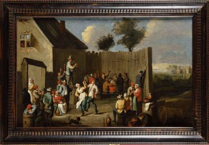 Ecole FLAMANDE du XVIIIe siècle suiveur David...