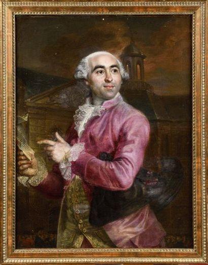 Attribué à François Louis LONSING (1739-1799)...