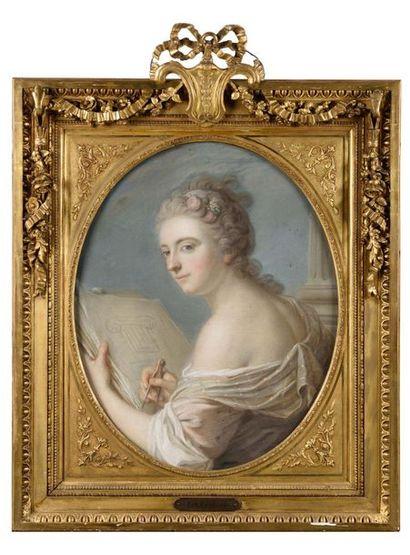 Ecole française du XVIIIe siècle Allégorie...