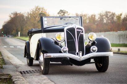 1936 BERLIET 944  CABRIOLET