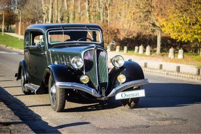 1936 DELAHAYE 132 COACH TOURAINE