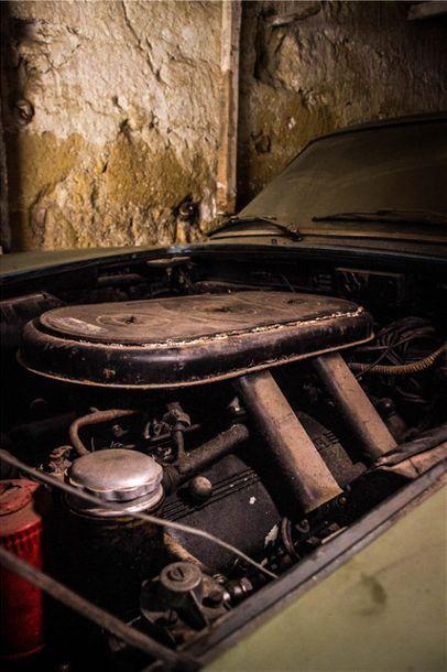 1966 FERRARI 330 GT 2+2 Numéro de série 8535  Moteur numéro 8535  Même propriétaire...