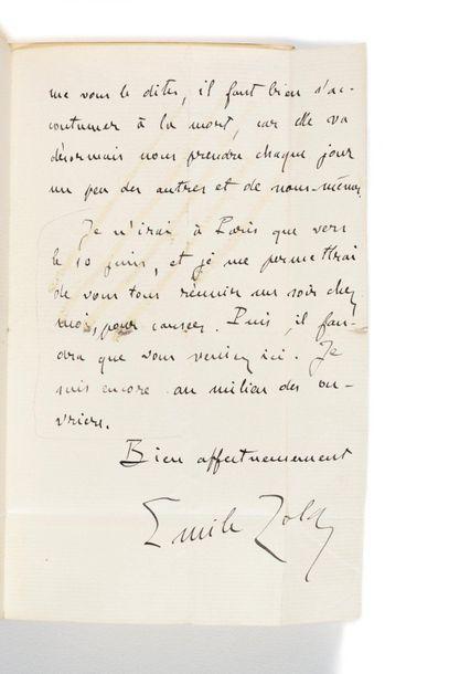 GONCOURT (Jules et Edmond de). Journal [...] Mémoires de la vie littéraire. Paris,...