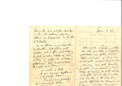 BERLIOZ (Hector). Lettre autographe signée...
