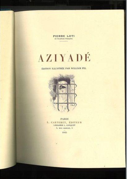 LO TI (Pierre ). Aziyadé. Paris, L. Carteret,...