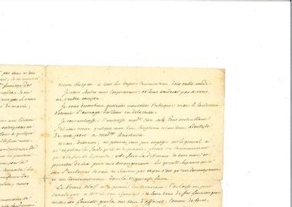 [CAMUS (Albert )]. – PHILIPE (Gérard). Lettre...