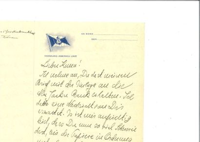 EINSTEIN (Albert ). Lettre autographe signée,...