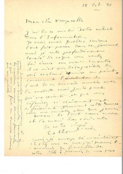 Ensemb le de 2 pi èces : Samuel BECKETT (enveloppe...