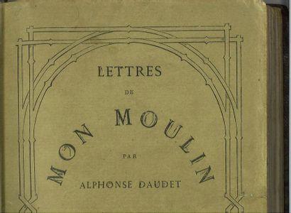 DAUDET (Alphonse). Lettres de mon moulin....