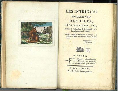 LITTÉRATURE SATIRIQUE : Les Intrigues du...