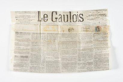 Ballon monté sur journal Le Gaulois. Réf....