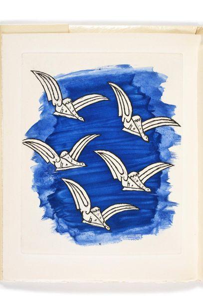 BRAQUE (Georges). – CHAR (René). Lettera amorosa. [Genève], Edwin Engelberts, 1963....