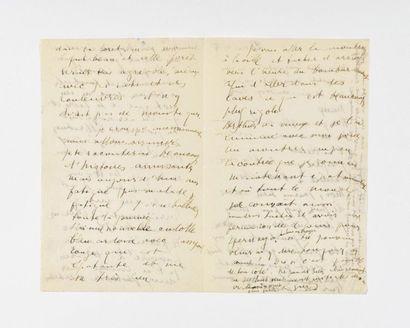 APOLLINAIRE (Guillaume ). Lettre autographe...