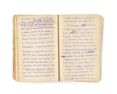 BOUSQUET (Joë). Manuscrit autographe. Environ...