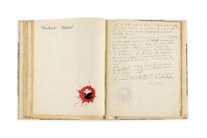 DESNOS (Robert ). 5 manuscrits autographes...