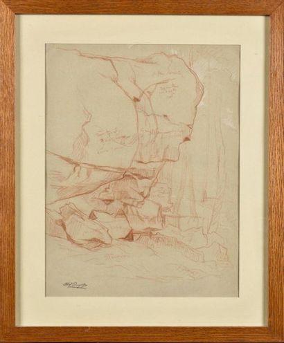 Alexandre DESGOFFE (1805-1882) Etudes de...