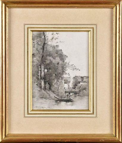 Paul-Désiré TROUILLEBERT (1829-1900) Le...