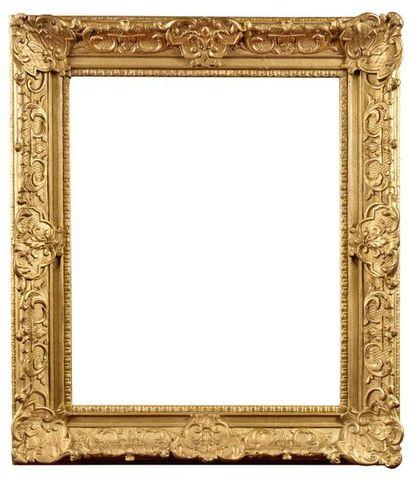 FRANCE, Epoque Louis XV Cadre en bois de...