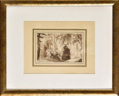 Jean-Jacques CHAMPIN (1796-1860) Paysage...