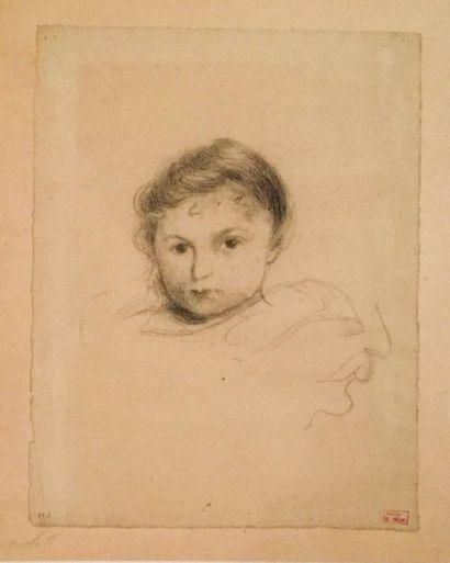 Hippolyte PETITJEAN (1854 - 1929) Portrait...