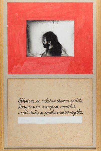 """MARIJAN MOLNAR (HRV/ NÉ EN 1951) Sans titre (Otkriva se velicanstveni...) inscrit..."