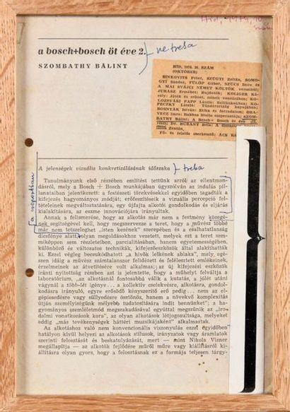 SLAVKO MATKOVIC (SRB/ 1948-1994) A bosch...