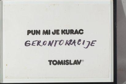 TOMISLAV GOTOVAC (HRV/ 1937-2010) Pun mi...