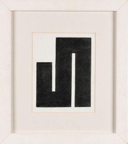 JULIJE KNIFER (HRV/ 1924-2004) Méandre graphite...