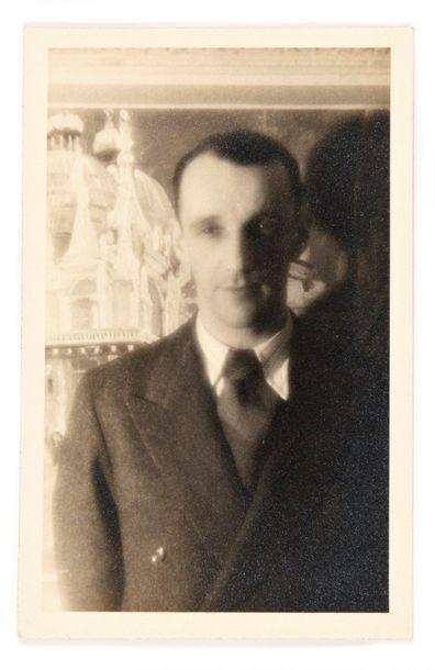 ANONYME (XXè) Portrait de Marko Ristic tirage...