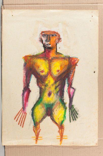 ABDELKRIM TAJIOUTI (FRA/ NÉ EN 1970) Homme...