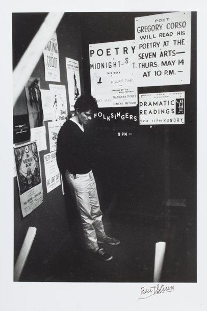 BURT GLINN (USA/ 1925-2008) Gregory Corso...