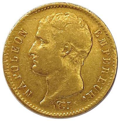 NAPOLÉON Ier 1804-1814 20 Francs or (type...