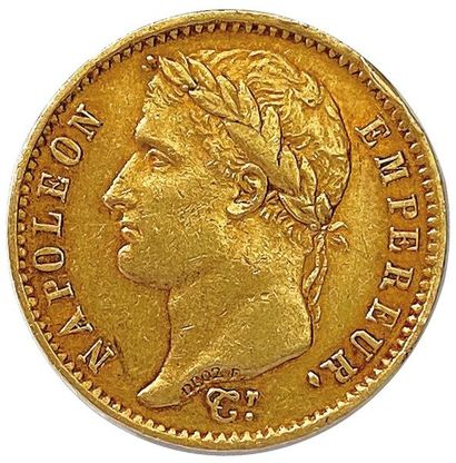 NAPOLÉON Ier 1804-1814 20 Francs or (tête...