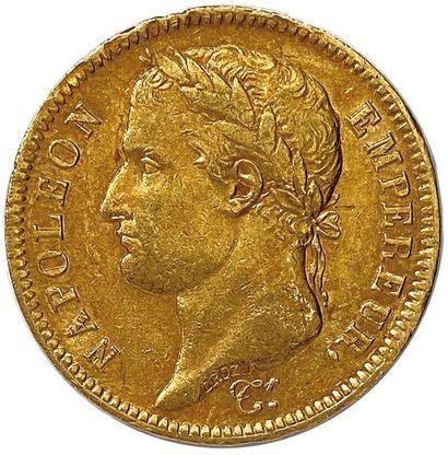 NAPOLÉON Ier 1804-1814 40 Francs or (tête...